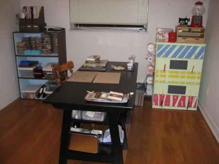 Organized Craft Room | udandi.com