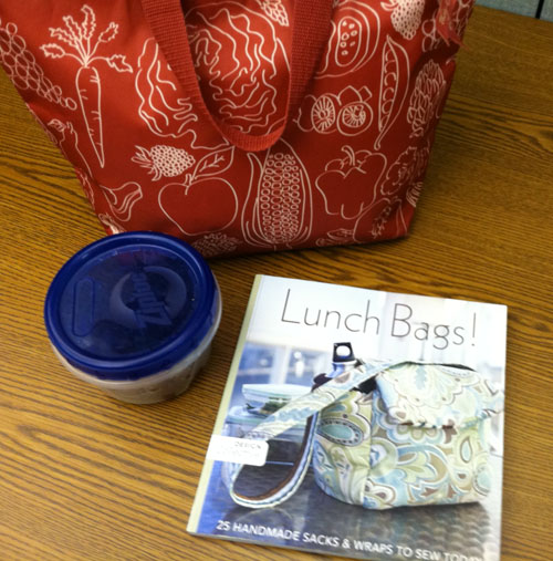 lunch bags from stash books