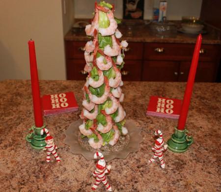 Christmas Shrimp Tree | udandi.com