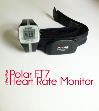 polar ft7 heart rate monitor and chest strap