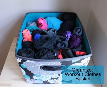 workout clothes basket by udandi.com