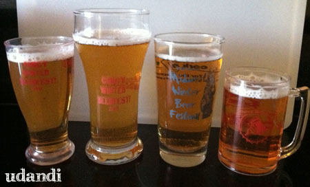 Cincy Winter Beer Fest glasses - udandi.com