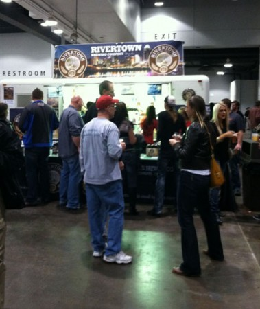 rivertown booth at Cincy Beer Fest by udandi.com