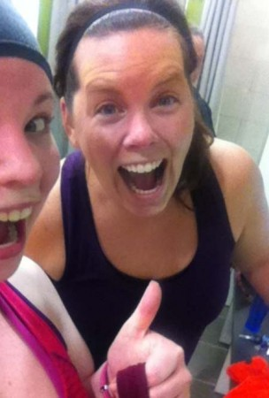 hot yoga with Amy