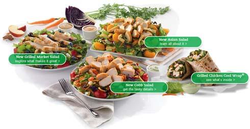 chickfila salads