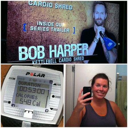 Bob Harrper Kettlebell Cardio Shred
