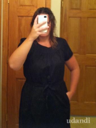 Target Trapunto dress