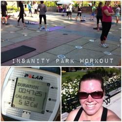 Insanity Free Weekend Workout Washington Park [udandi.com]