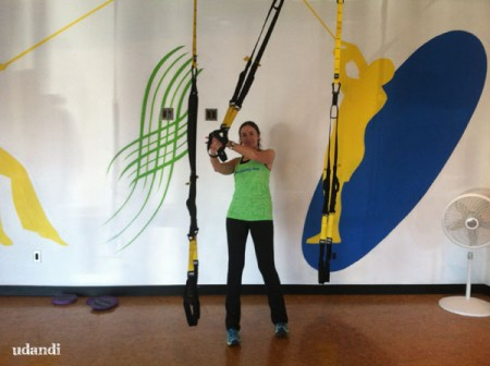 It's Working Out TRX training in Cincinnati review by udandi.com