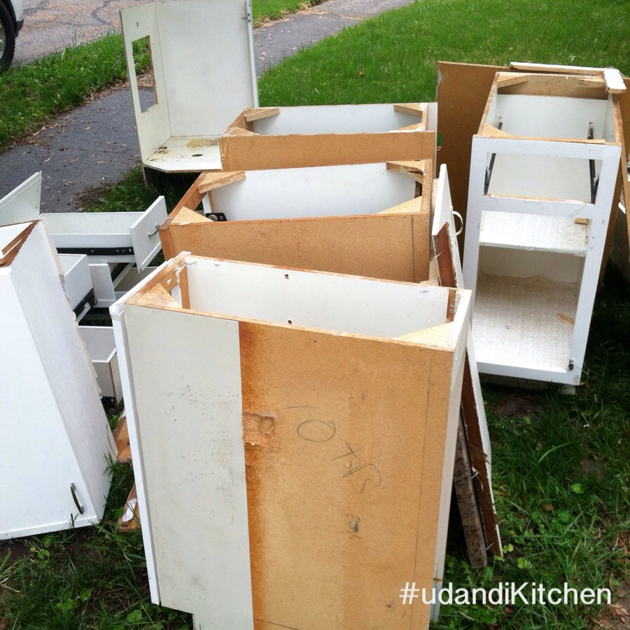 #udandiKitchen demolition udandi.com