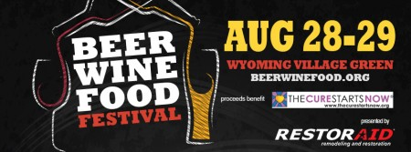 Beer, Wine and Food Festival Aug 28-29 2015