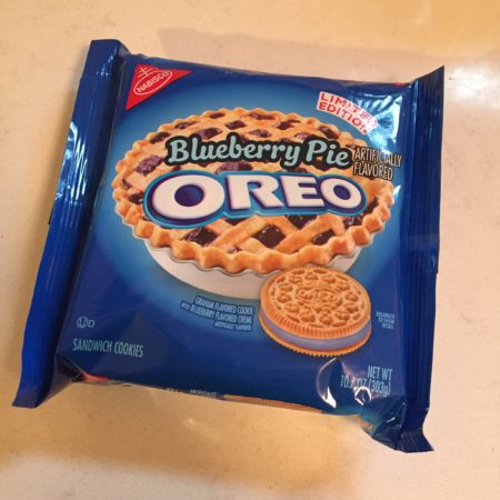 Bluebery Oreo Limited Edition